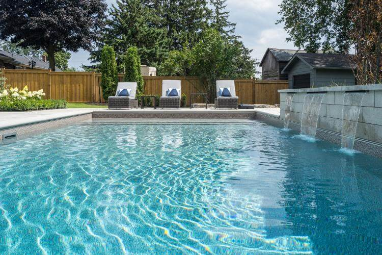 cost of a pool installation Vaughan