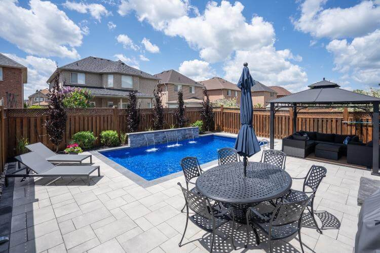 inground pool designer Toronto