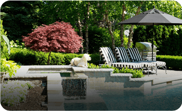 swimming pool landscape design in greater toronto
